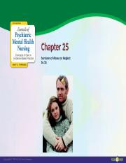 Chapter25 Suvivors of Abuse or Neglect.ppt