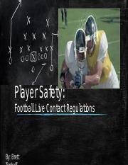 Player Safety PP