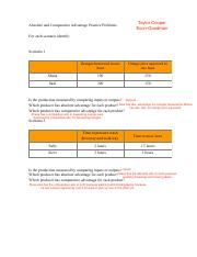 Absolute and Comparative Advantage Practice Problems Revised.pdf