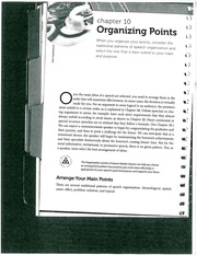 Organizing Points