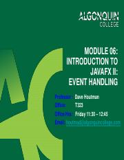 18W_Module 06 - Introduction to JavaFX II - Event Handling(1).pdf
