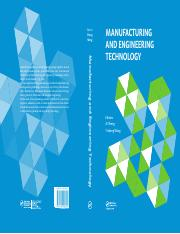 Manufacturing and Engineering Technology (ICMET 2014) - Ai Sheng, Yizhong Wang (CRC, 2015).pdf