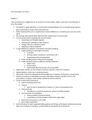 Communications 211 Notes