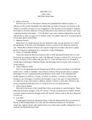 Midterm study guide 1-10