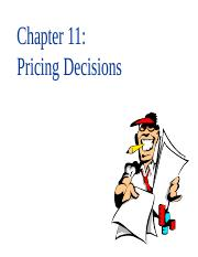 118200_Lec-chp11-Pricing Decision