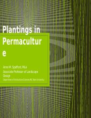 Plantings in Permaculture.pptx