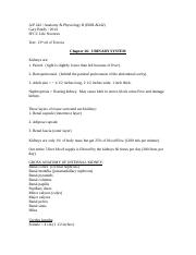 Urinary System Notes Ch26 2014.doc