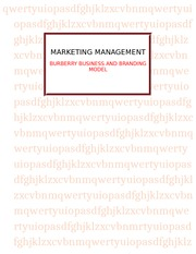 Term Paper for Marketing Managemant