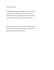 Chapter 5 EOC questions