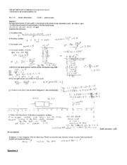 Stats- Exam 1 Solution