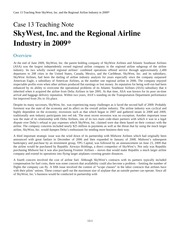 Case 13 SKYWEST INC