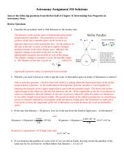 Astronomy HW 10 Stellar Nomenclature I Solutions Spring 2014-2