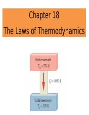 Chapter 18_The Laws of Thermodynamics_PUNEET