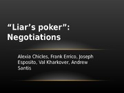 Liars Poker Presentation (FINAL)