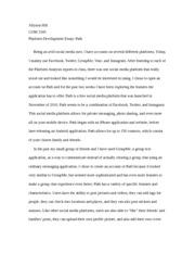 Help finding an essay/analysis?