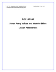 MSL102L03_Seven_Army_Values_and_Warrior_Ethos_Quiz