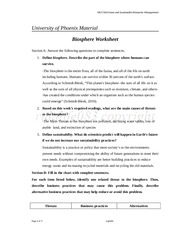solution_10201311190705MGT 360 Week 1 -  Biosphere Worksheet