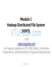 CSE 15CS82 : Big Data Analytics - VTU - Course Hero