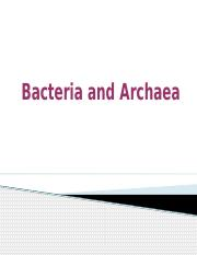 Unit 2 - Bacteria and Archaea.pptx