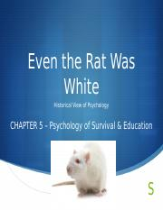 CH5_Psychology of Survival  Education
