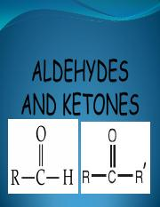 PP 1.6 ALDEHYDES  AND KETONES PDF