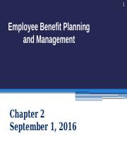 PPT02 Sept 1, 2016 Benefits design