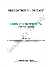 BOOK ON INTERVIEW