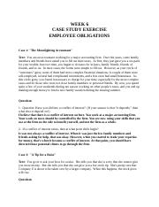Week 6 Cases--Employee obligations--rev. 2010.rtf.docx