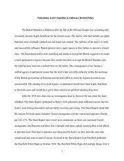 Arab israeli conflict essay