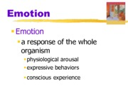 chapter 13 Emotion ppt