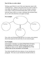 Research Paper--Thesis and Outline.doc