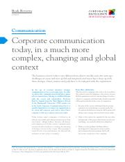 L13 Corporate Communication