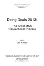 Chapter 3-GETTING THE DEAL STARTED- PRELIMINARY AGREEMENTS AND THE ROLE OF FINANCIAL ADVISORS