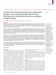 248_Outcomes from monitoring of patients on antiretroviral therapy in resource-limited settings with