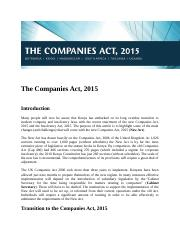 The Companies Act 2015-reforms.docx
