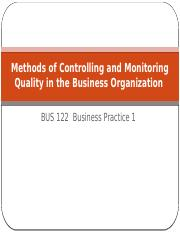 Methods of Controlling and Monitoring Quality in the (1).pptx
