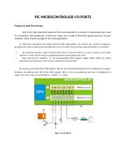PIC MICROCONTROLLER INPUT-OUTPUT PORT PROGRAMMING.docx