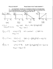 Written Homework 5 Solutions