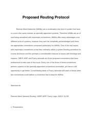 Proposed Routing Protocol.docx