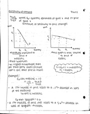 Elasticity of demand and QALY notes