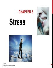 OLS 252 Chapter 6 - Stress