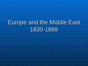 Europeandthe Middle East