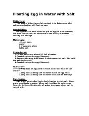 floating egg in water.rtf