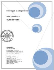 32558468-Strategic-Management-short-Project-for-Tata-Motors