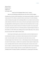 Autism Paradigm Shift Essay.docx