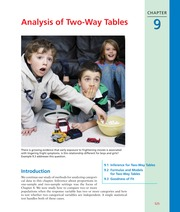 CHAPTER 9   Analysis of Two-Way Tables-2