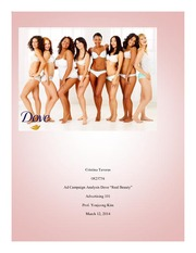 Ad campaign Analysis: DOVE