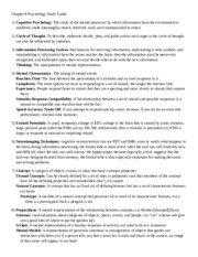 Chapter 8 Psychology Study Guide