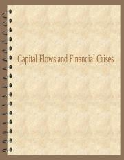 Capital flows and financial crises.ppt