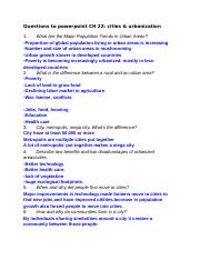 QuestionstopowerpointCH22citiesurbanization.docx